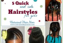 Hair care/styles