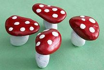 Stone mushrooms