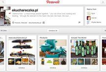Robię To dla ekuchareczka.pl / media social na pinterest dla ekuchareczka.pl