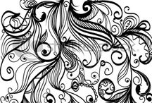 Zentangle Doodles / by Sandra Julian