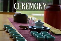 my love of Chinese and Japanese  tea ceremony