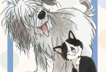 Art: Man's Best Friend - Illustrations & Non-traditional / Dog artwork, non-traditional
