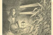 B & W & Shades of Gray / Illustrations in black & white. / by Jennifer Thermes