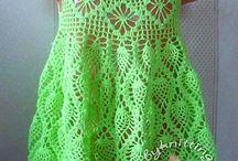 crochet dresses for little ladies