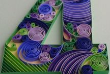Quilling Numbers / by GraftonPl