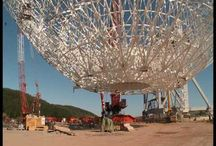 Professional radiotelescopes