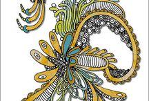 Crafts: Zentangles / by Liz Applegate