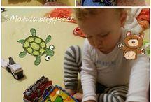 SiMa Quiet book + filc / Moja výroba Quiet book