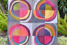 Circle Quilts / Quilts With Circles, Circle Quilts, Bubble Quilts