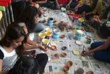 Diwali Celebration - Diva Marketing work shop / Diwali Celebration - Diva Marketing work shop by INIFD, Gandhinagar