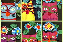 Laurel Burch and inspired
