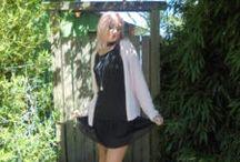 Mode femme / Un p'tit bout d'été. Robe de chez camaieu, gilet et mule de chez pimkie