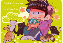 Osomatsu-San!! / This is honestly mostly pictures of Ichimatsu cause he's my favourite.