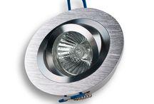 """Einbaustrahler """"Cora Round"""" / 12/230V Einbaustrahler """"Cora Round"""" Aluminium (Rostfrei) gestrahlt/poliert, dreh- und schwenkbar! Mit Halogen- oder LED-Leuchtmitteln lieferbar."""