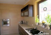 Kuchnia/Kitchen / Zrealizowane projekty domów - piękne #kuchnie, #kitchenprojekt, które są zawsze centrum naszego domostwa!