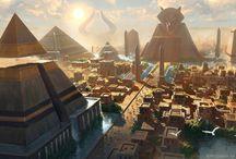 Égyptien city