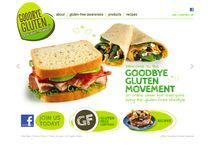 DePersico Creative Food Branding - Goodbye Gluten / DePersico Group developed the branding, logo, package design, web design and print communications for Goodbye Gluten