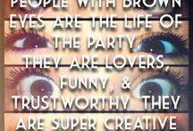 #BrownEyedFacts!!