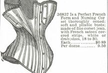 Montgomary Ward corset advert