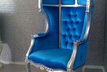 Colour Trend - Blue Furniture / Blue Furniture Ideas. Create your own furniture at www.hiddenmill.com