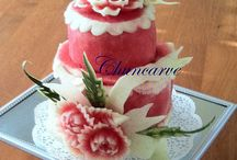 Food carvings / by Louann Martin