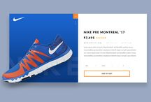 Nike product Card - Daily UI 003