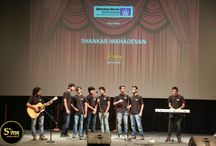 """5th Veda: The Art Of Music With Shankar Mahadevan / The students of Whistling Woods International were left spellbound as Shankar Mahadevan  took to the stage at the 5th Veda.He also shared a deep insight into """"The Art of Music"""""""