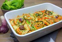 Gemüse Nudel Auflauf