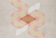 Abstract Graphic Design / Abstract Graphic Design Art Print Interior Collection