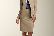 Job Interview Attire - Women / Examples of appropriate attire for women to wear for a job interview.