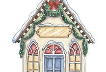 LF Christmas village