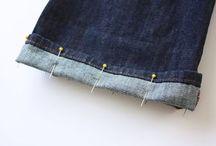 Costurar / Barra de calça