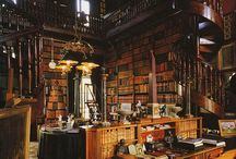 Book Space! / Coveted libraries and places with books...