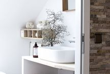 Bathroom Storage Ideas / A selection of interesting, creative and inspirational bathroom storage solutions.