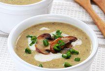 Zupy zupki kremy