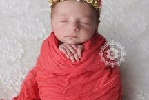 Babies: Cocoon Wraps / Babies wrapped into a cocoon bundle.