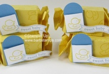 Baby Ideas / www.barbstamps.com - Ideas for baby showers