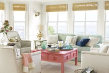 Beach House Breezy / Now that we are official beach home owners, it's time to pin decorating ideas until my eyes go buggy!