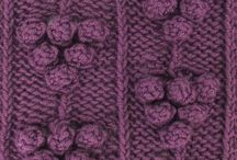 August 2013 Knitting Stitch Patterns / The knitting stitch patterns our subscribers received with their August 2013 issue. / by Pick-A-Stitch on Pinterest