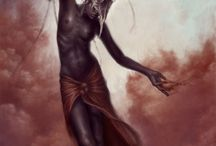 African Deity, Goddess, Mythology