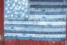 American Flag Quilts / by Kristin Barrus