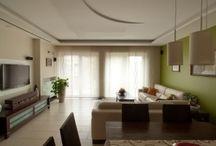 Textil árnyékoló, belsőépítészet