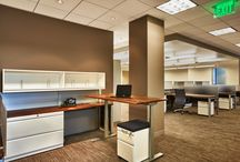 Adjustable Height Desks / The science proves it: adjustable height desks make sense for mind and body. A blend of ergonomic design and smart materials, your staff can enjoy increased movement, circulation, focus and flow. Contact us to furnish your commercial office space with new adjustable height desks and workstations.