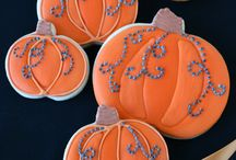 Decorated cookies and cakes