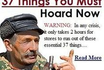 THINGS YOU MUST HOARD NOW FOR SURVIVAL