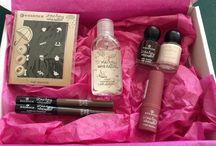 Kosmetik Produkte / Verschiedene Produkte zum verschönern