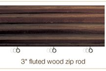 """Zip Rods / ADR exclusive """"zip track"""" installed in 11 different rods and all our cornice!"""