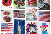 Holidays: Patriotic for 4th of July / Memorial Day / USA / Fun crafts, treats, and activities to celebrate the United States of America and patriotic holidays such as Independence Day, Memorial Day, Veteran's Day, and President's Day.