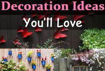 Garden Fence Decorations