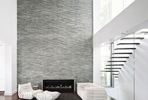 Feature Walls / Our 3D claddings are designed for a dynamic and highly textured natural finish or sleek honed basket weave effect. Incorporate strategic lighting to set off the beauty of natural faced stone or highlight the curves of stone that has been expertly calibrated during our manufacturing process.